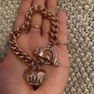 Juicy couture locket bracelet